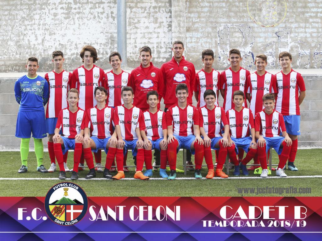 Cadet B | Fútbol Club Sant Celoni