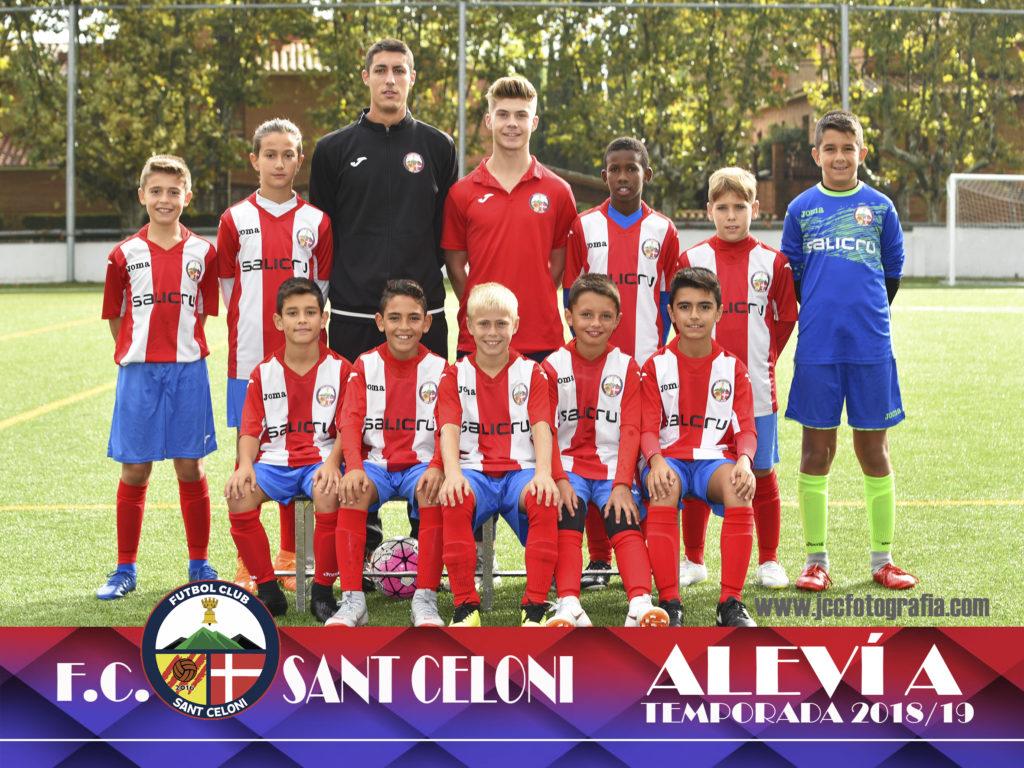 Aleví A | Fútbol Club Sant Celoni