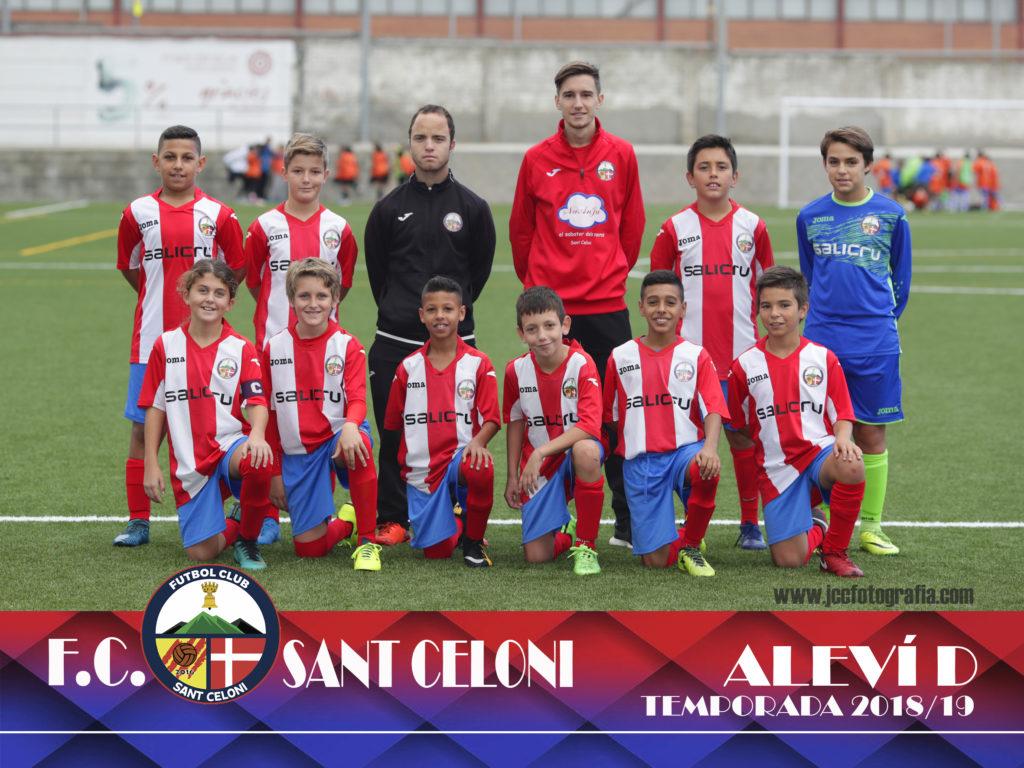 Aleví D | Fútbol Club Sant Celoni