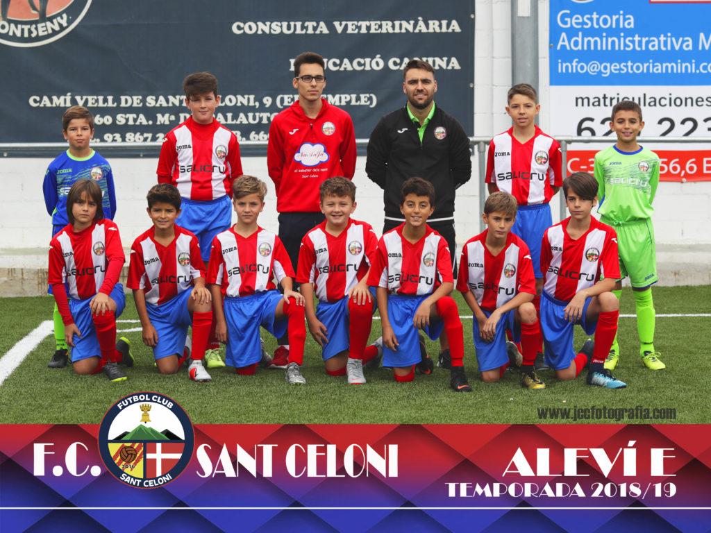Aleví E | Fútbol Club Sant Celoni