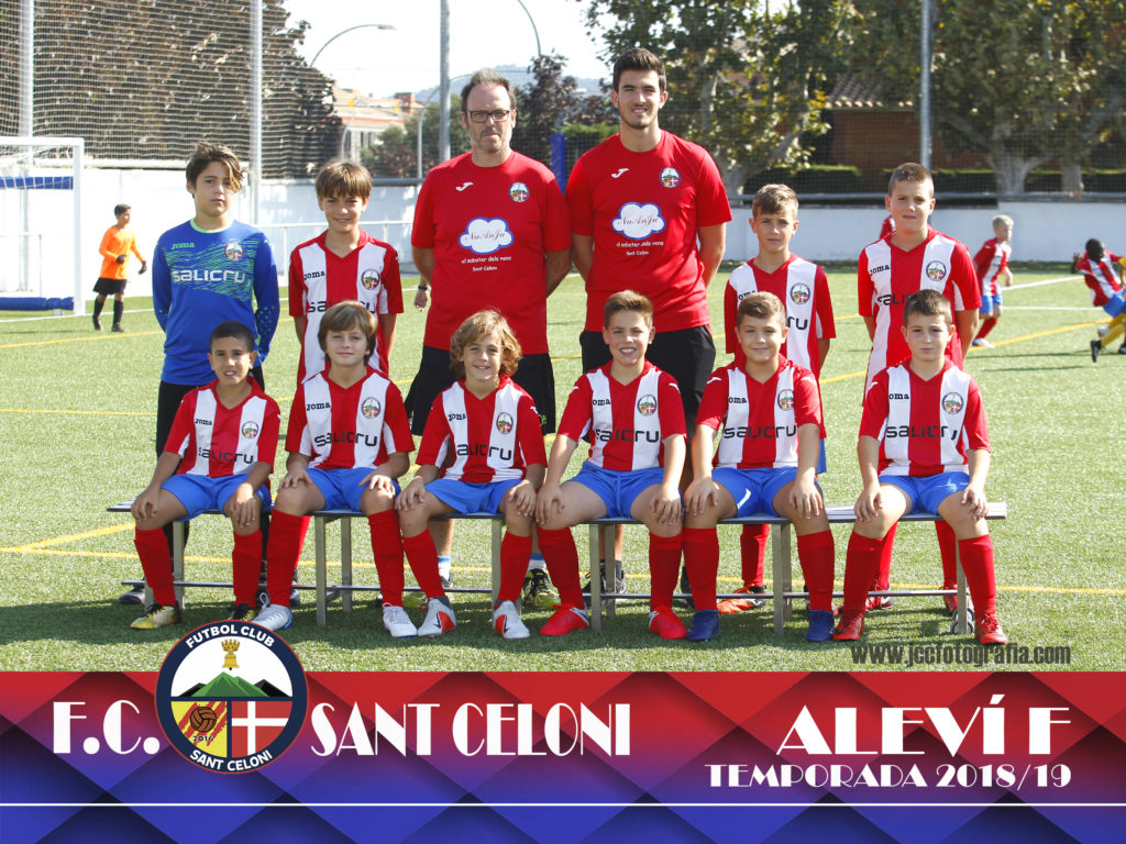 Aleví F | Fútbol Club Sant Celoni