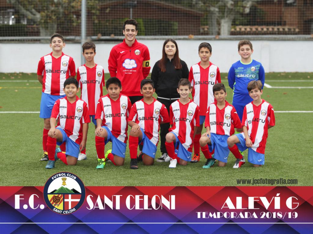 Aleví G | Fútbol Club Sant Celoni