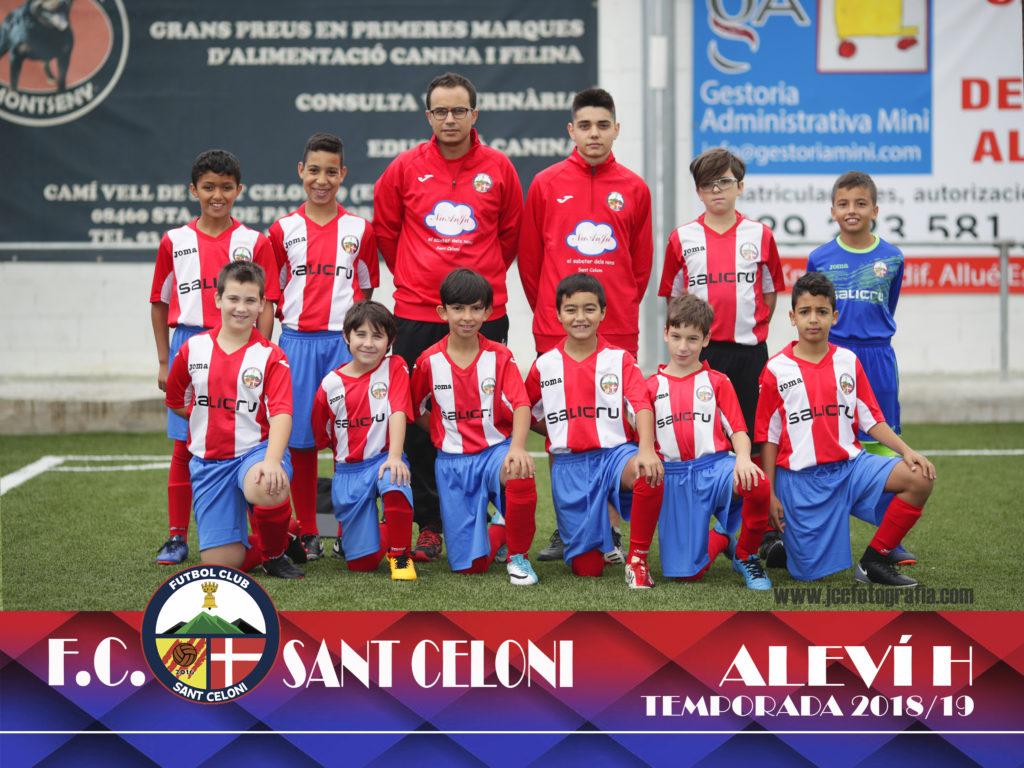 Aleví H | Fútbol Club Sant Celoni