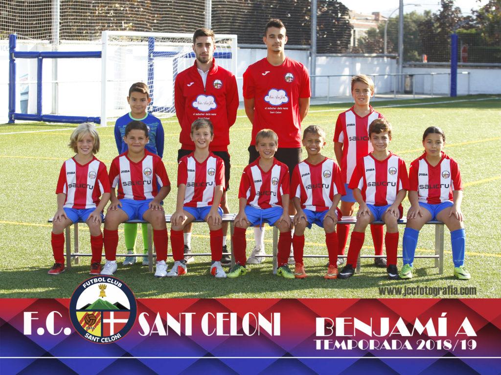 Benjamí A | Fútbol Club Sant Celoni