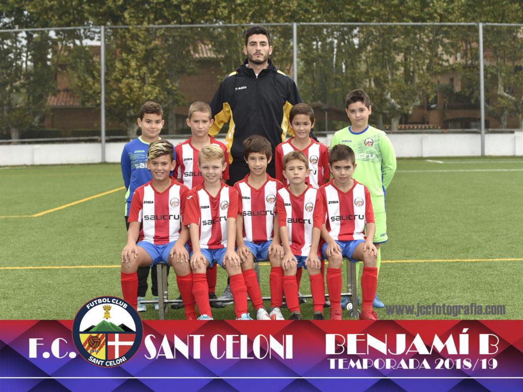 Benjamí B | Fútbol Club Sant Celoni