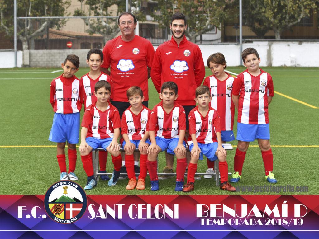 Benjamí D | Fútbol Club Sant Celoni