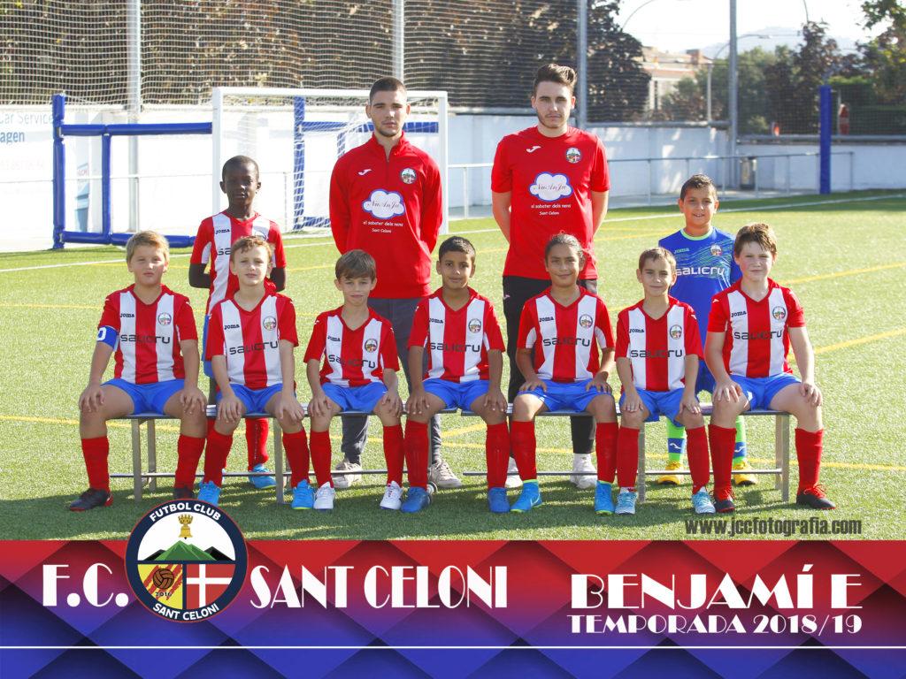Benjamí E | Fútbol Club Sant Celoni