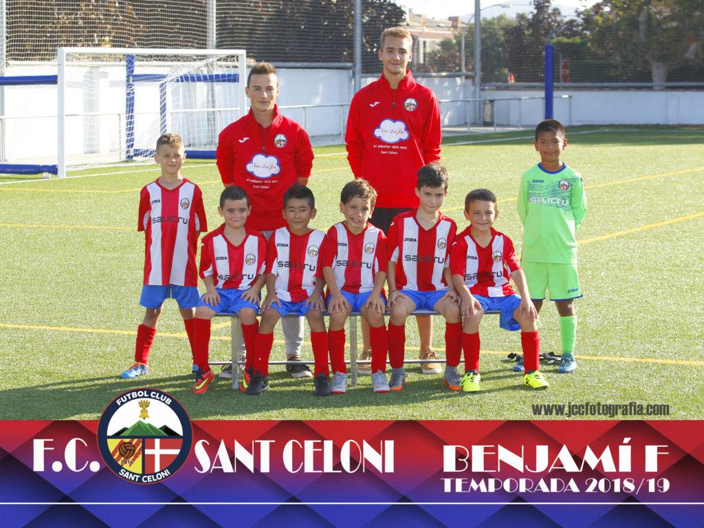 Benjamí F | Fútbol Club Sant Celoni