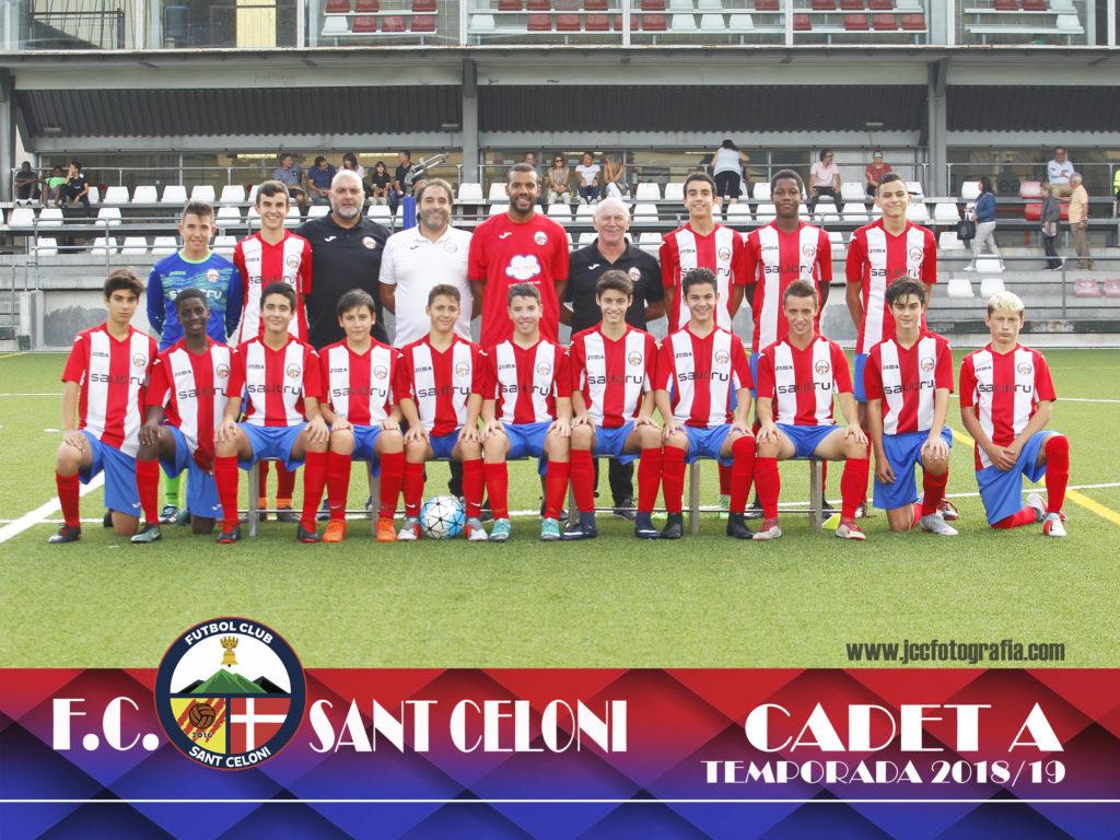 Cadet A | Fútbol Club Sant Celoni