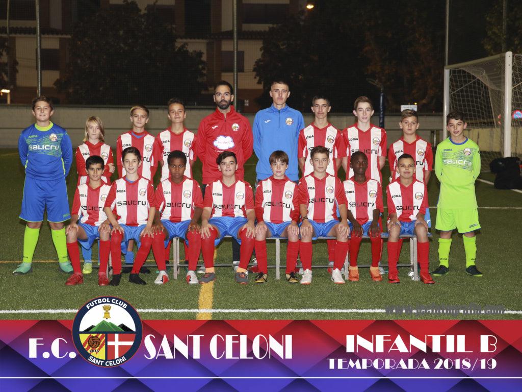 Infantil B | Fútbol Club Sant Celoni