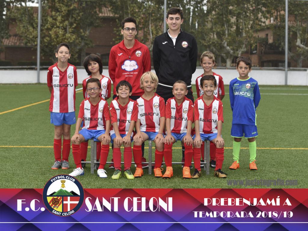 Prebenjamí A | Fútbol Club Sant Celoni