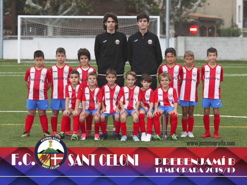 Prebenjamí B | Fútbol Club Sant Celoni