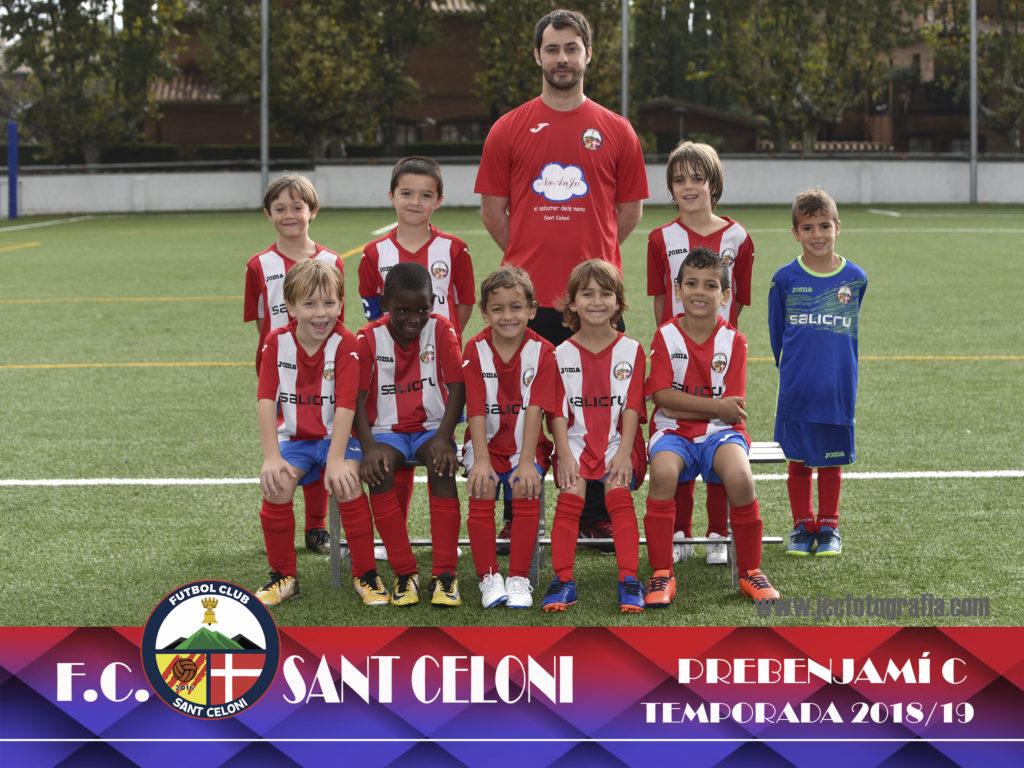 Prebenjamí C | Fútbol Club Sant Celoni
