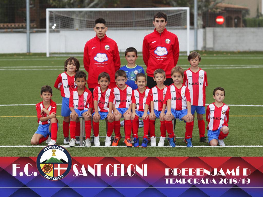 Prebenjamí D | Fútbol Club Sant Celoni